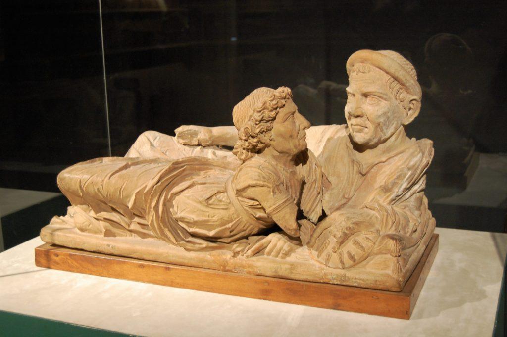Etruscan treasures in Volteera
