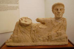 Etruscan treasures in Volterra museum