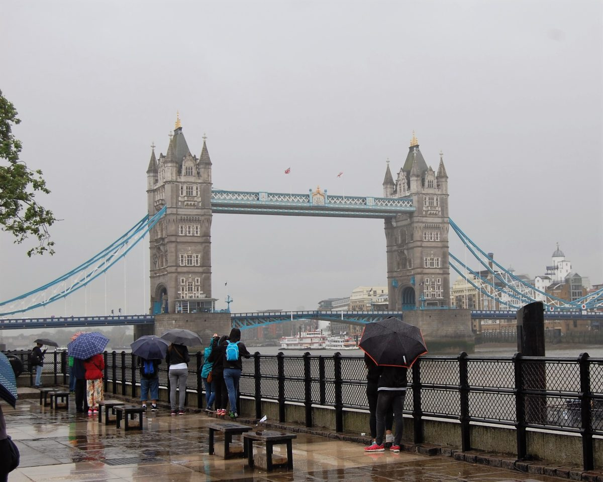 London's Tower Bridge 'Draws' You There