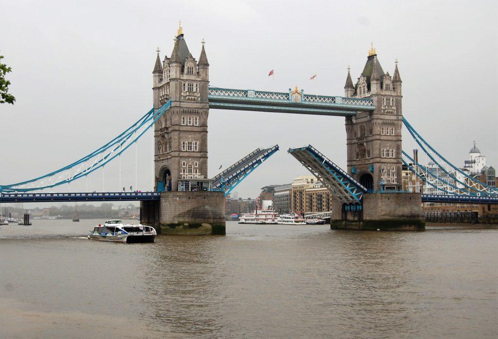 London Tower Bridge is most famous bridge