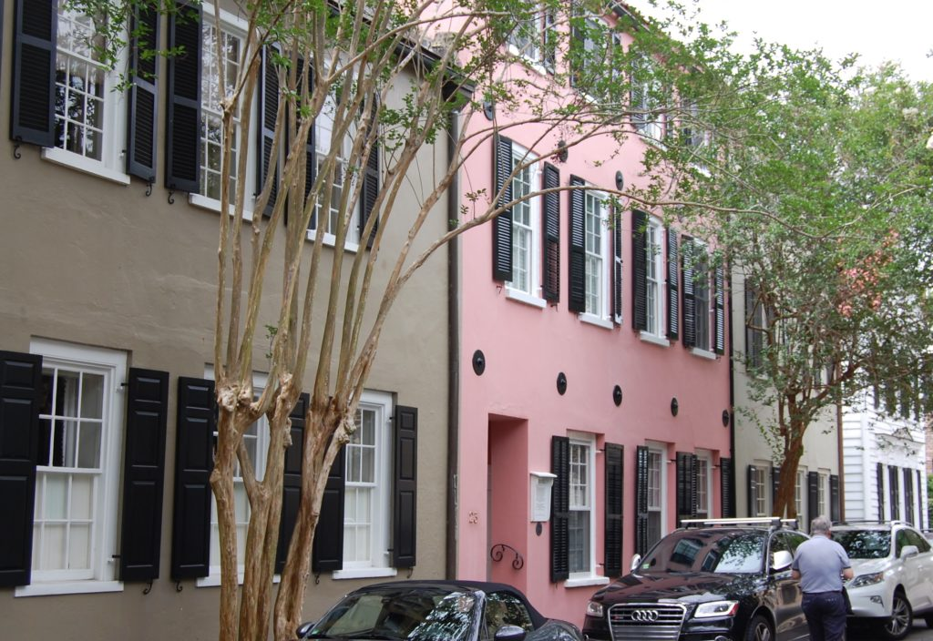 walking tour in Charleston