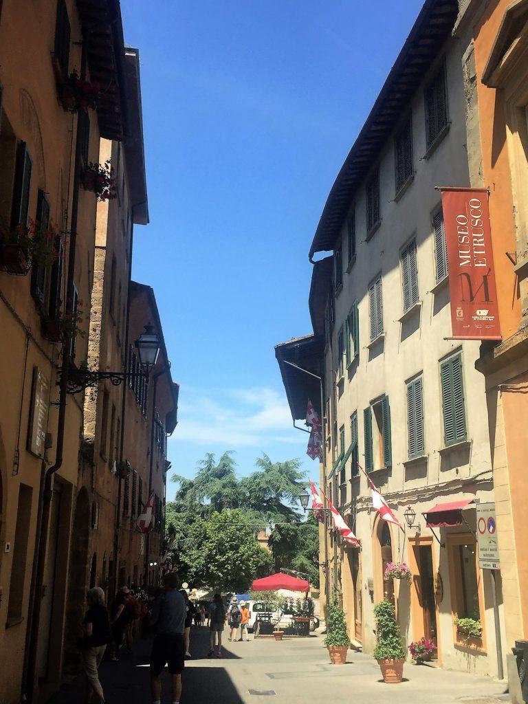 Volterra museum with Etrucan treasures