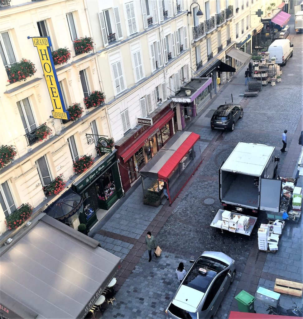 Rue cler street feels like a small village within paris delightful - La poste rue cler ...