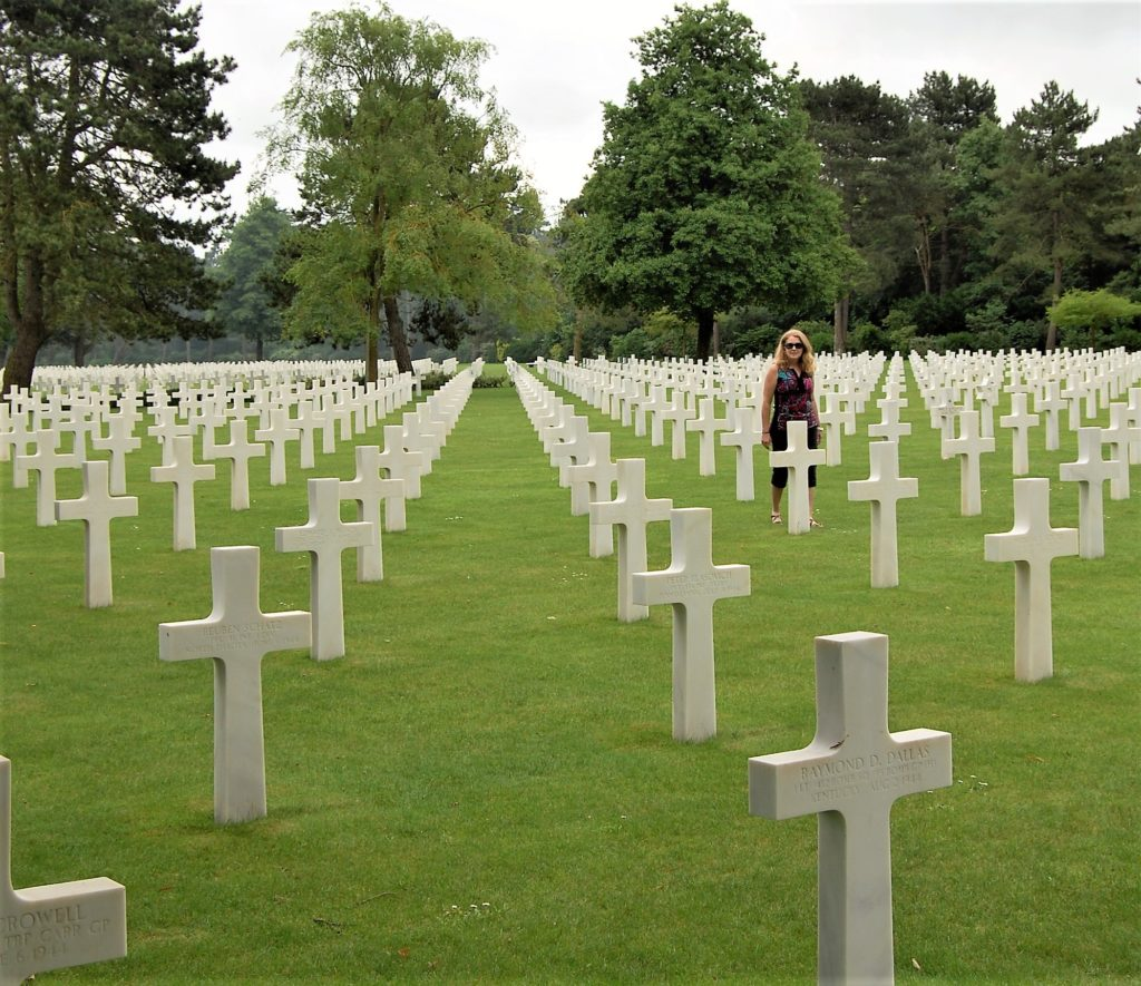 Must see normandy american cemetery trueheart travels for American soil