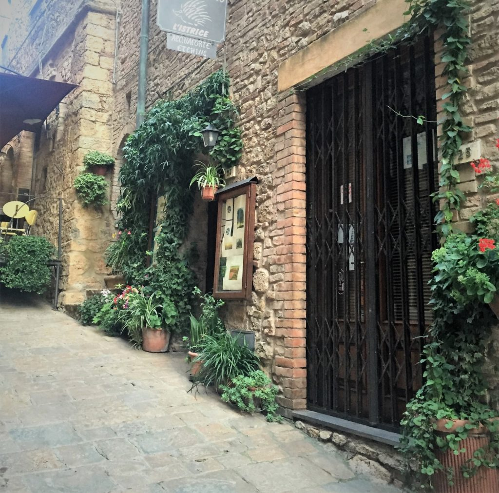 Walled Tuscan Town