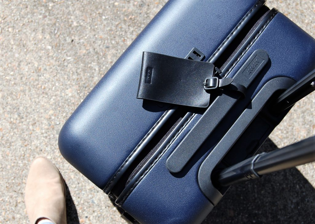AWAY Bigger Carry-On Suitcase--Bigger and charges my phone